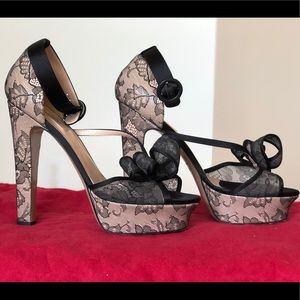 Like new showstopper Valentino platforms